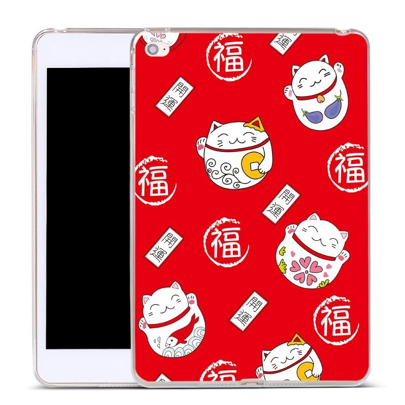 ipad air 2 silicone cover Lucky cat: