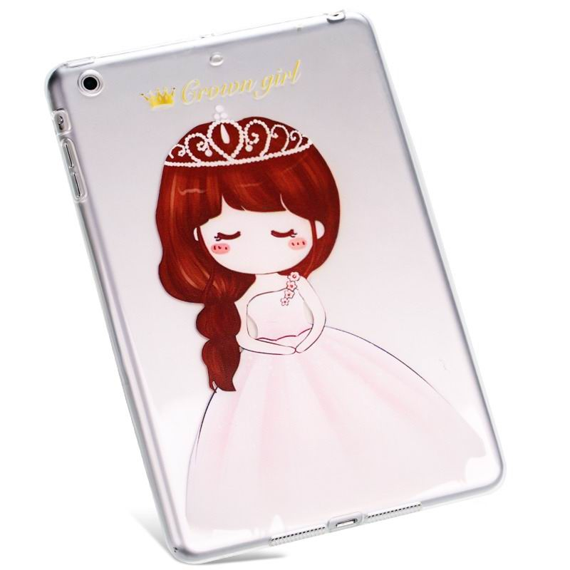 ipad air 2 silicone cover Crown Princess: