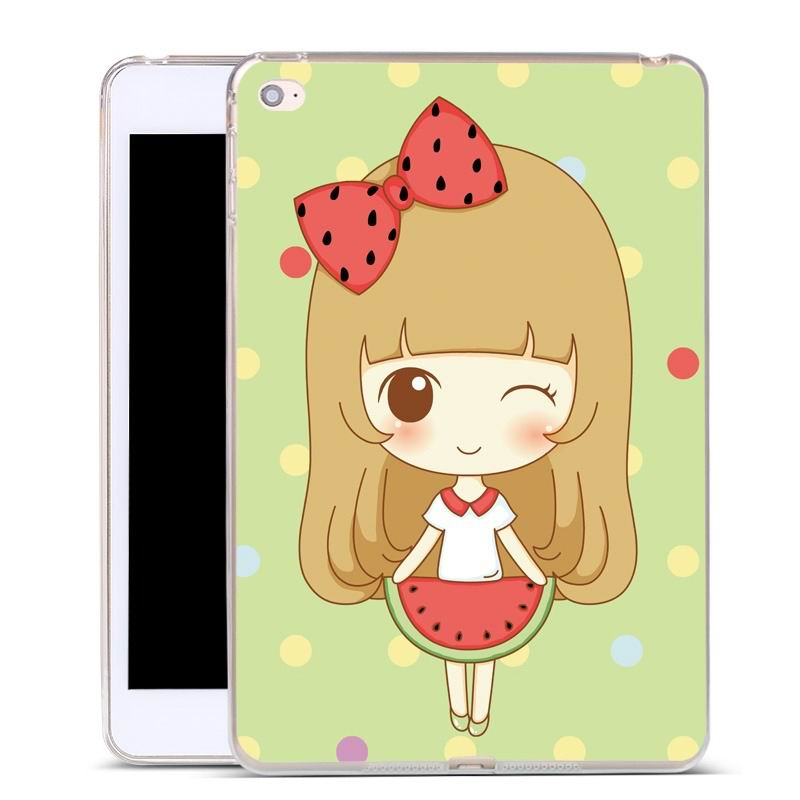 ipad air 2 silicone cover Watermelon girl: