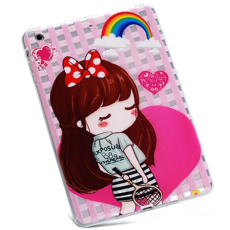 ipad air 2 silicone cover Tennis little beauty:
