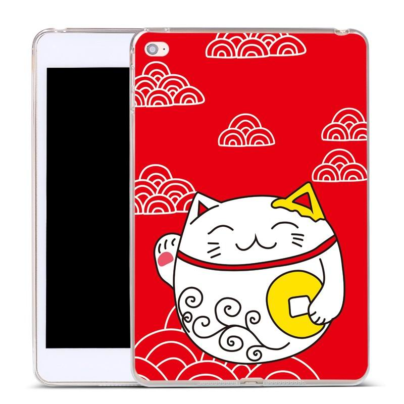 ipad air 2 silicone cover Clouds cats: