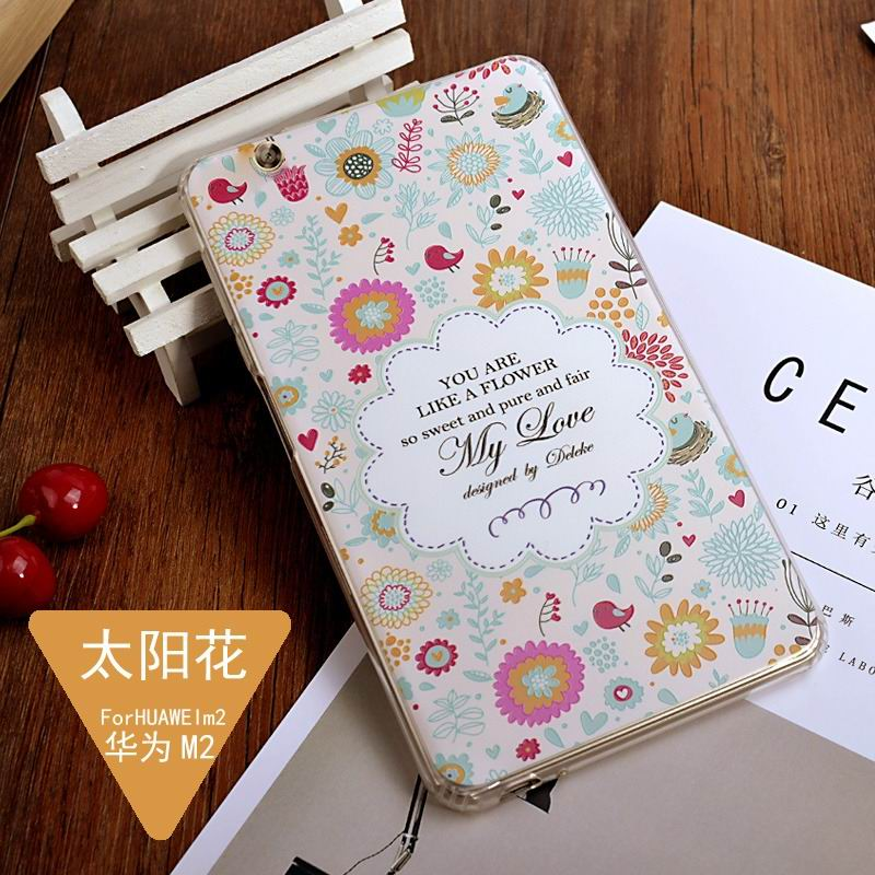 mediapad m3 silicone cover with a huge collection of images 2 Sunflower: