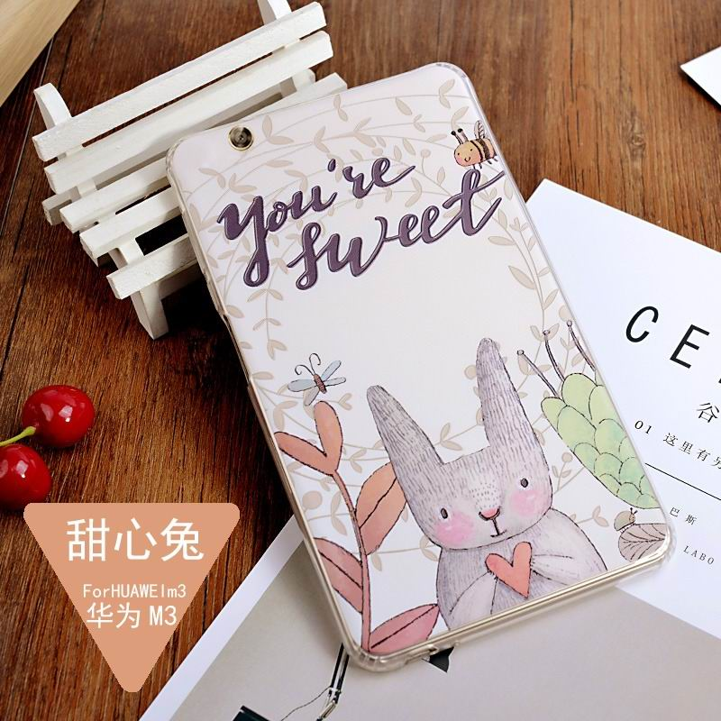 mediapad m3 silicone cover with a huge collection of images 2 Honey rabbit: