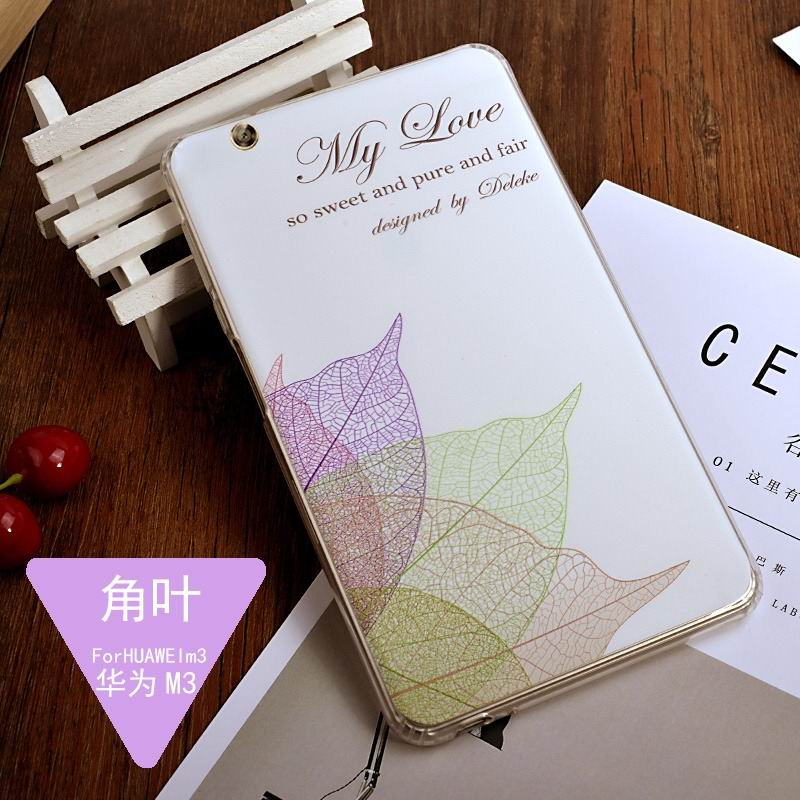 mediapad m3 silicone cover with a huge collection of images 2 Angular leaf: