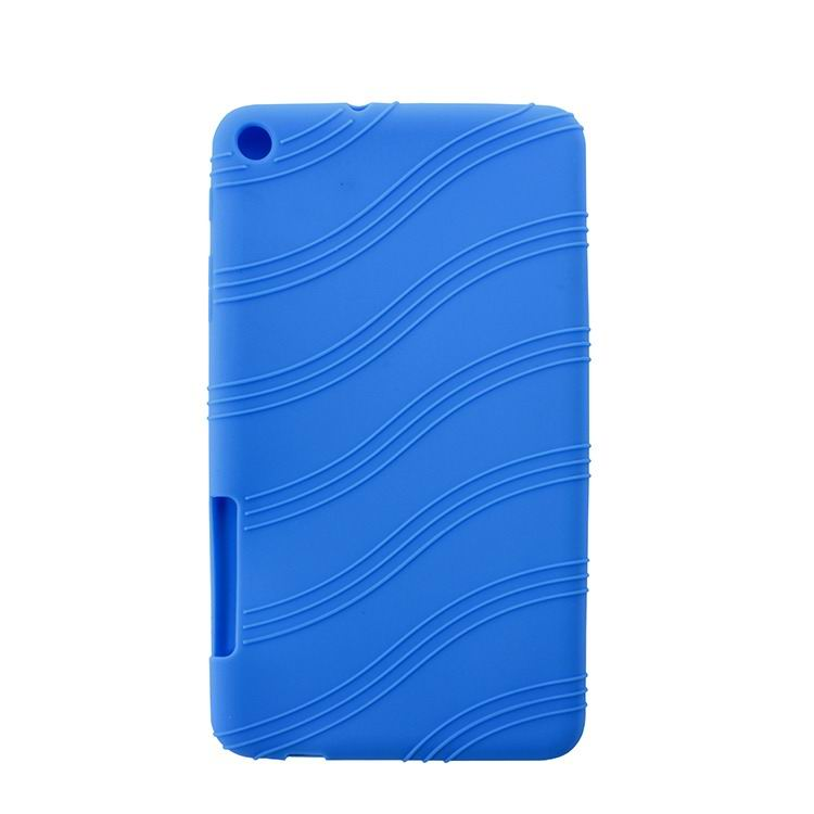 mediapad t1 70 plus silicone cover with a pattern of protuberant waves