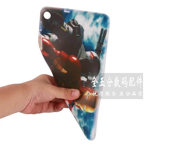 mediapad t1 70 plus silicone cover with cartoon heroes 3
