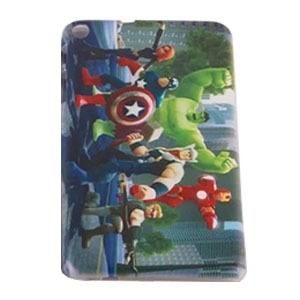 mediapad t1 70 plus silicone cover with cartoon heroes 3 Pattern 6: