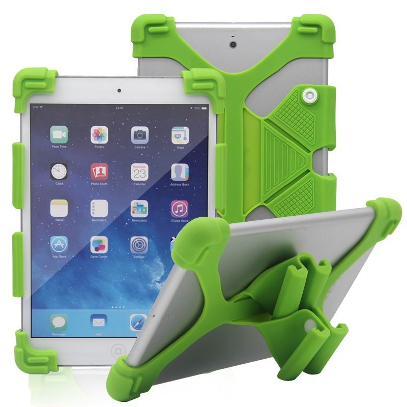 mediapad m3 silicone monochrome cover with flexible stand green: