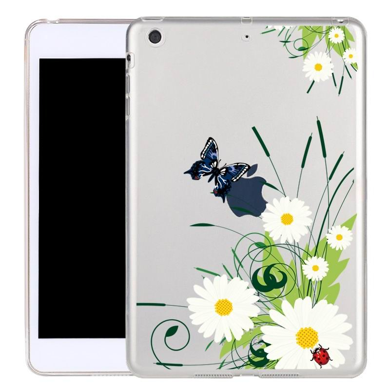 ipad air 2 silicone transparent cover with cute illustrations Nuit: