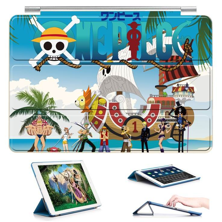 ipad air 2 case with 22 variants of cartoon pictures and with 3 stand