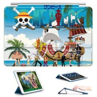 Case with 22 variants of cartoon pictures and with 3-stand for iPad Air 1, iPad Air 2