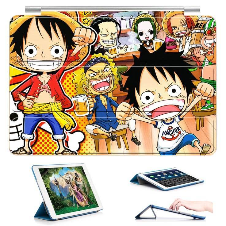 ipad air 2 case with 22 variants of cartoon pictures and with 3 stand 11:
