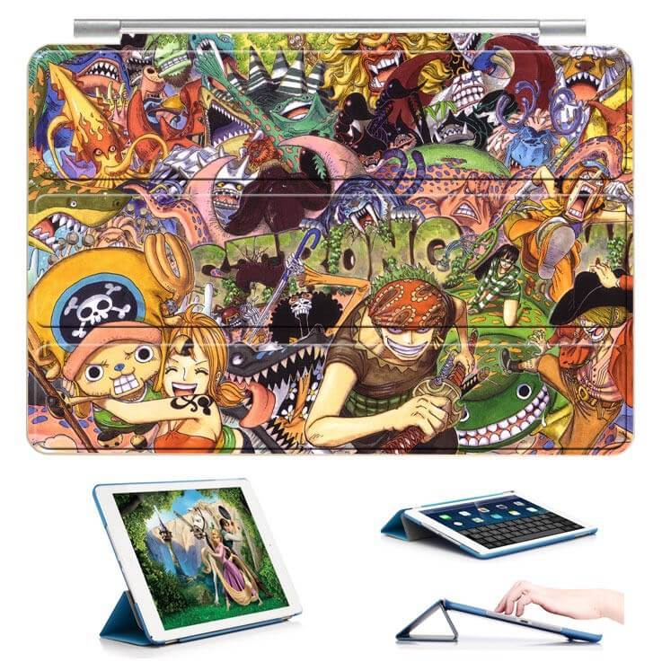 ipad air 2 case with 22 variants of cartoon pictures and with 3 stand 19: