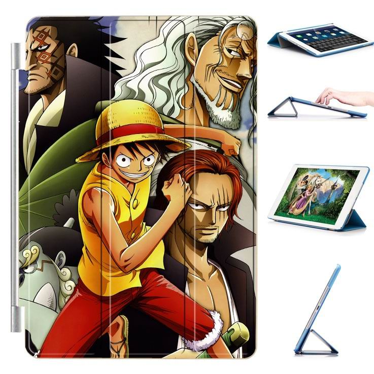 ipad air 2 case with 22 variants of cartoon pictures and with 3 stand 4: