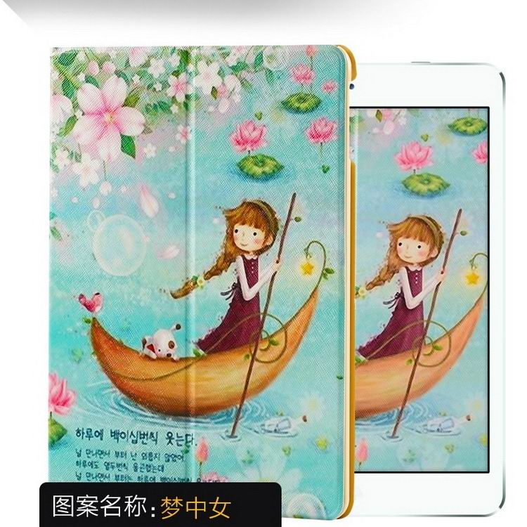 ipad air 2 case with a variety of pictures and with 2 stand Dream girl: