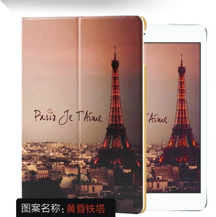 ipad air 2 case with a variety of pictures and with 2 stand The dusk Tower: