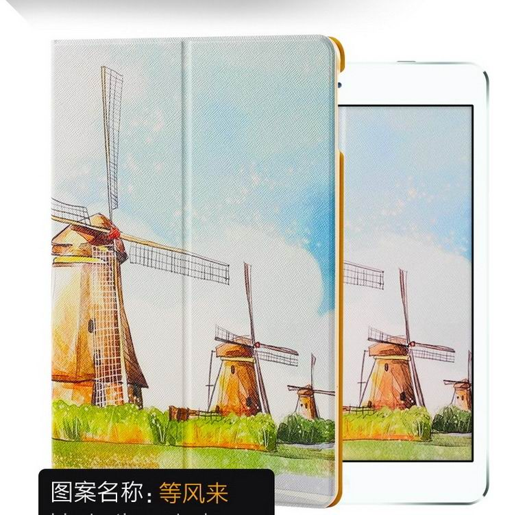 ipad air 2 case with a variety of pictures and with 2 stand Like the wind to: