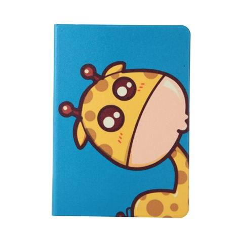 ipad air 2 case with the image of very nice giraffes and 2 stand :