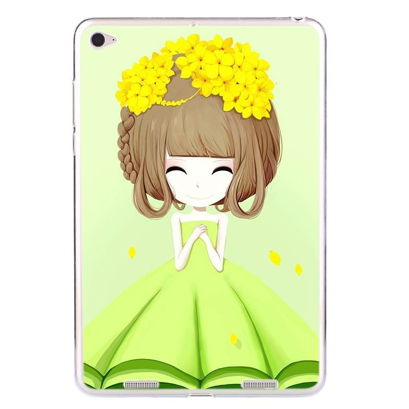 ipad air 2 silicone cover with a huge selection of pictures Ying Chun girl: