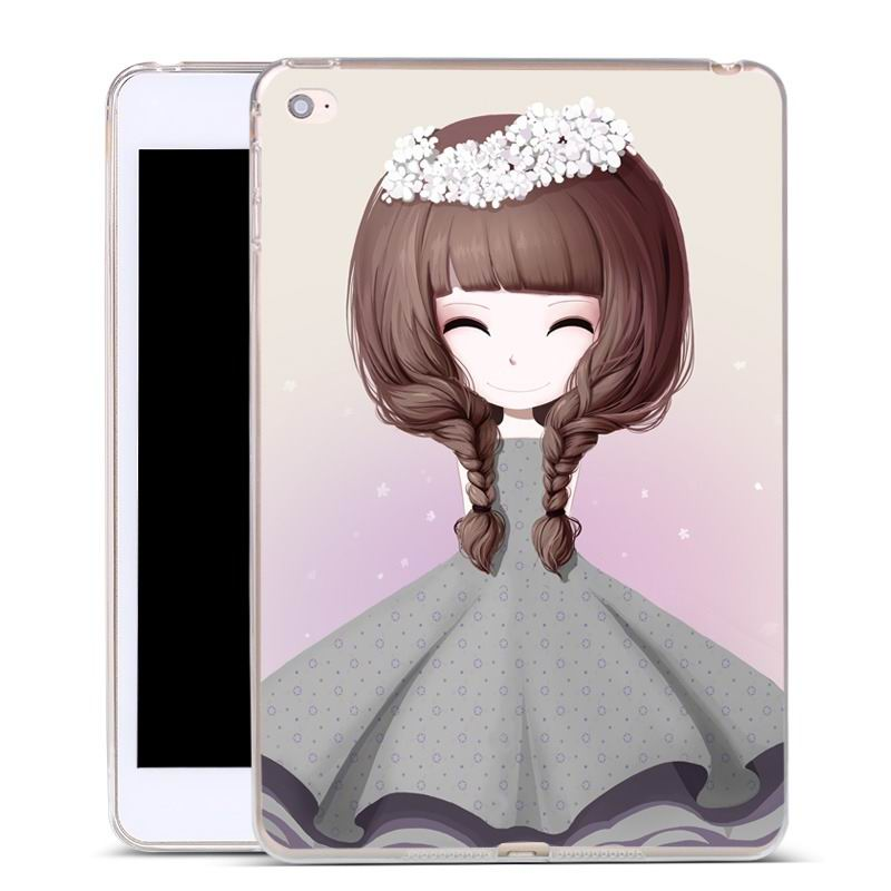 ipad air 2 silicone cover with a huge selection of pictures starry girl: