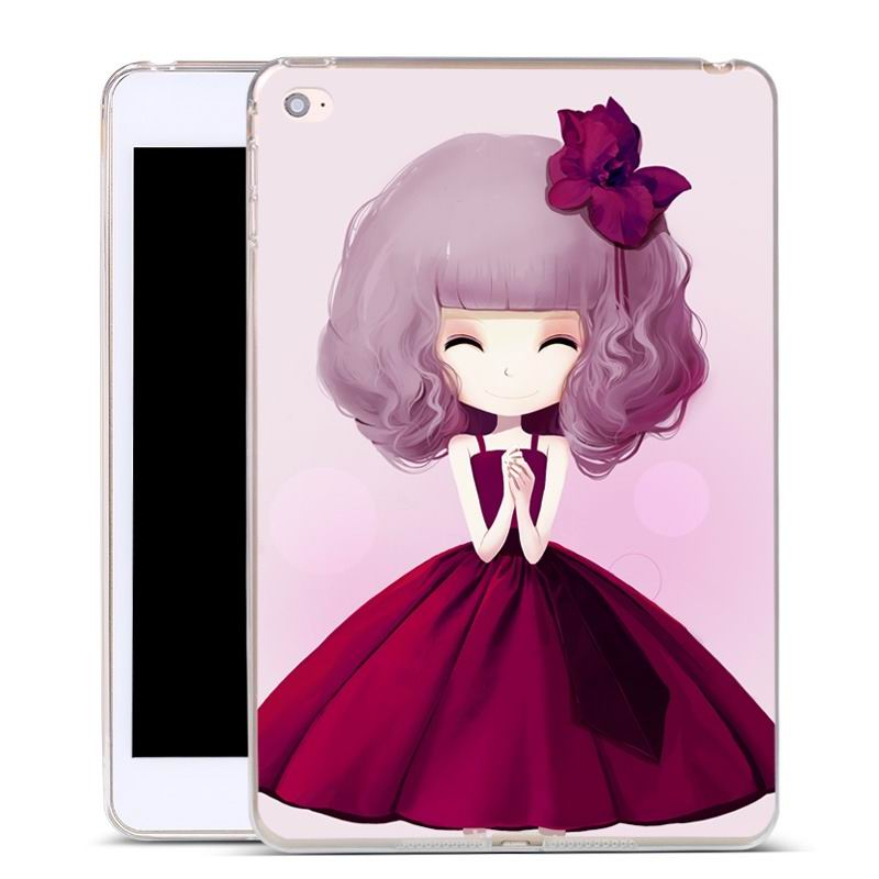 ipad air 2 silicone cover with a huge selection of pictures Fleur-de-Lis girl: