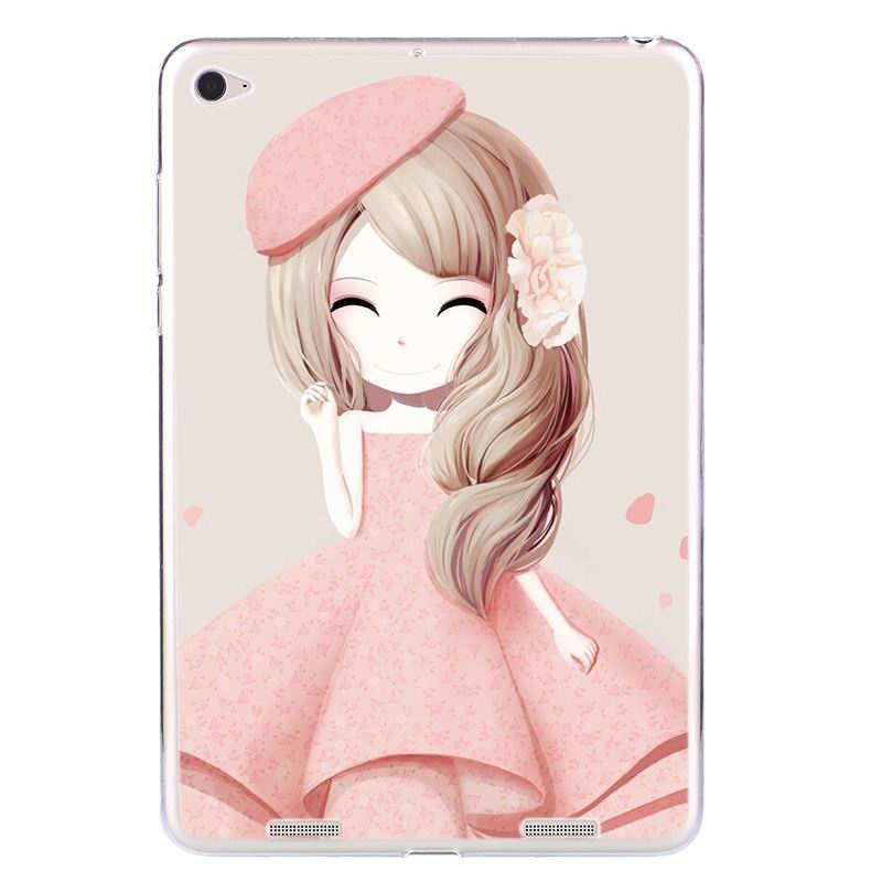 ipad air 2 silicone cover with a huge selection of pictures Hibiscus girl: