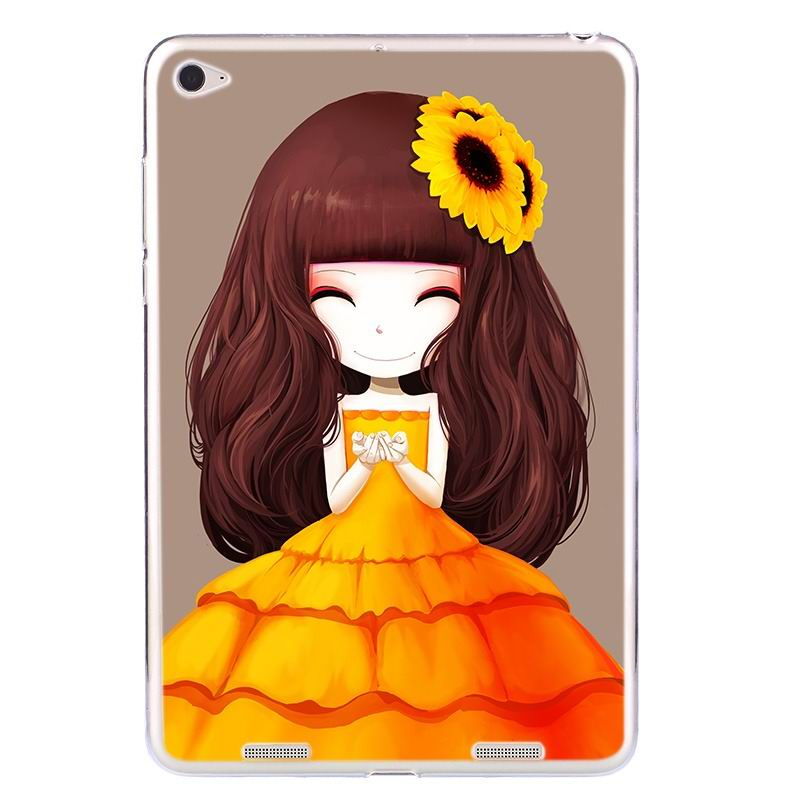 ipad air 2 silicone cover with a huge selection of pictures sunflower girl: