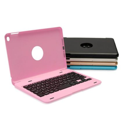 Aluminium cover with Wireless Bluetooth Keyboard for iPad Mini 1,2,3,4