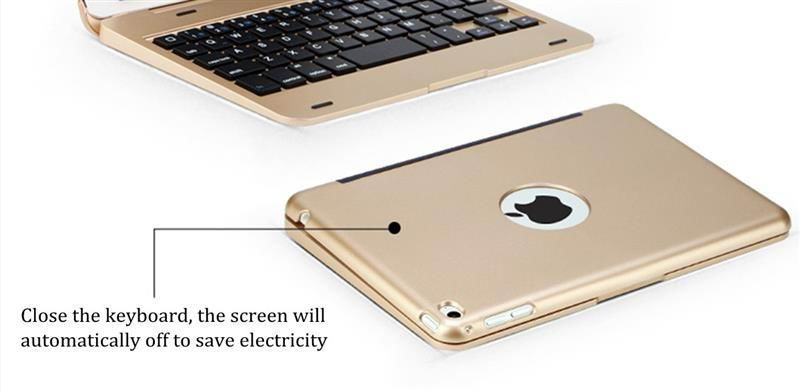 Aluminium cover with Wireless Bluetooth for iPad Mini 4